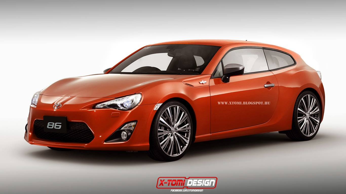 toyota gt 86 shooting brake hot or not autoevolution. Black Bedroom Furniture Sets. Home Design Ideas