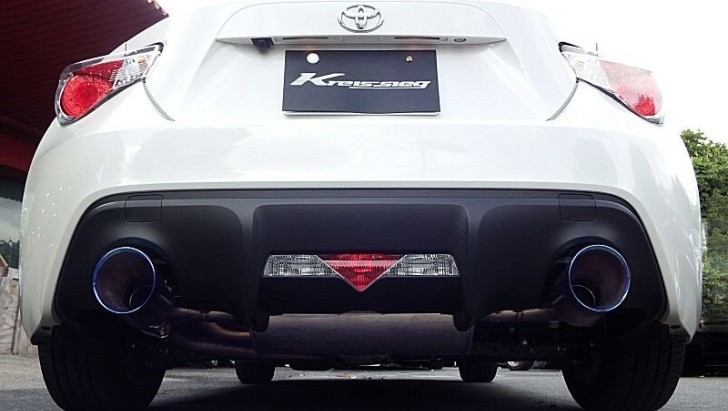 Toyota GT 86 Sounds Mean With a Kreissieg Exhaust [Video]