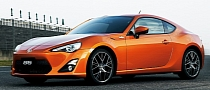 Toyota GT 86 to Cost Less Than GBP28,000 in Britain