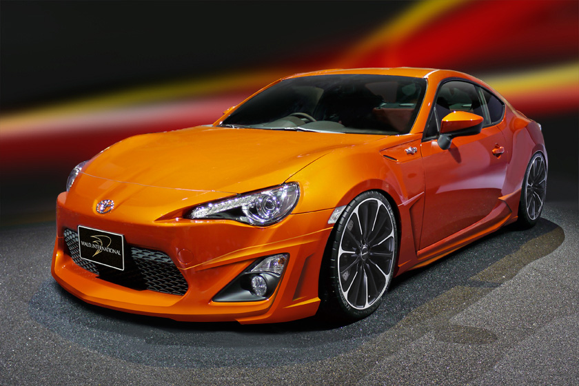 toyota gt 86 tuned by wald international. Black Bedroom Furniture Sets. Home Design Ideas