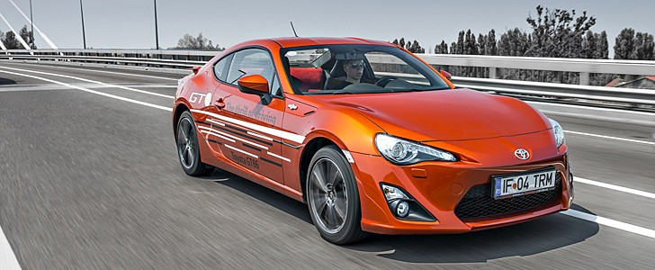 Toyota GT86 - Only the First of Three New Sports Cars