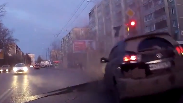 Toyota Harrier Crashes Into Sudden Road Crack in Russia [Video]