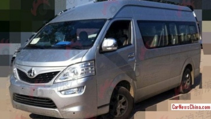 Toyota Hiace Turns Into Changan Zunxing in China