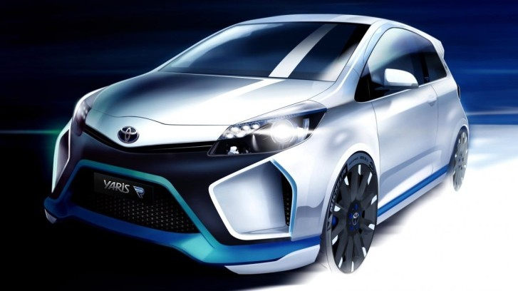Toyota Hybrid-R Concept Is a Crazy Yaris