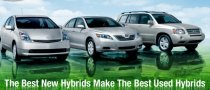 Toyota Hybrids Get Certified Used Program