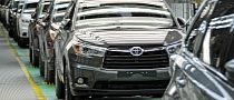 Toyota Indiana Starting 2014 Highlander Production