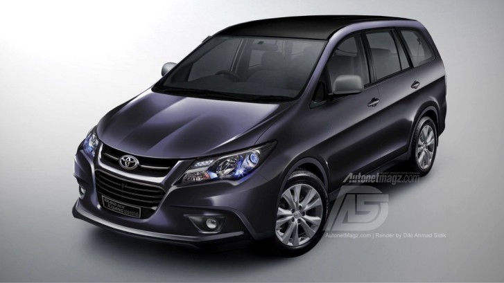 Toyota Innova Reimagined in New Rendering