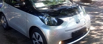 Toyota iQ EV Spotted in China