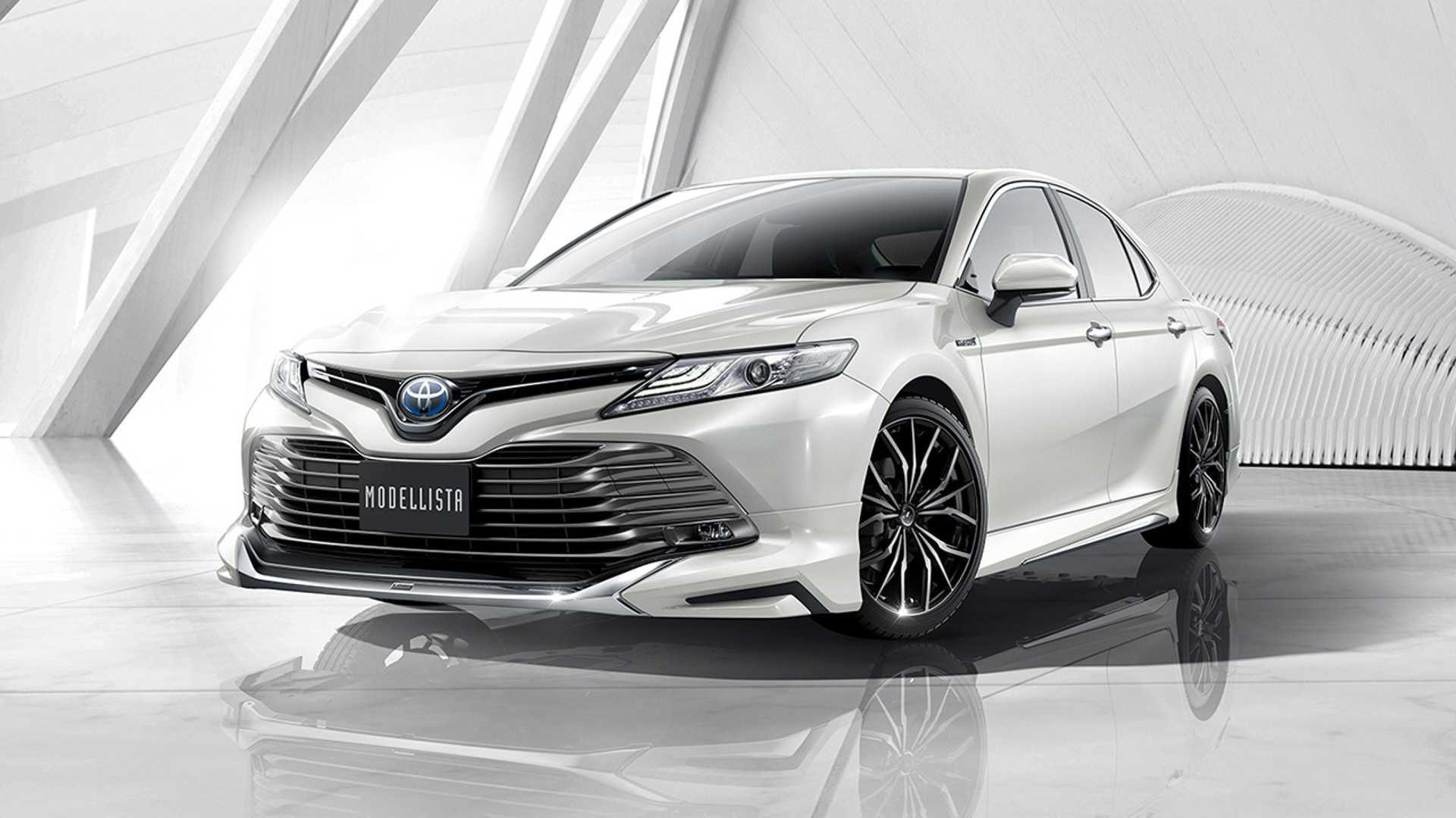 Toyota Japan Gifts The New Camry With Trd And Modellista
