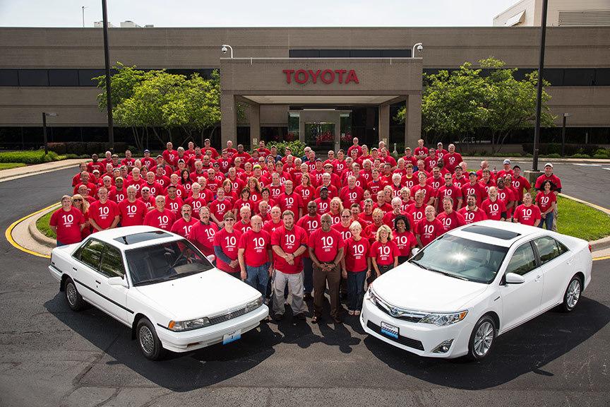 Toyota Kentucky Plant Builds 10-Millionth Vehicle - autoevolution