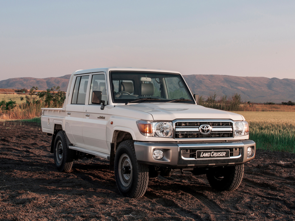 """Toyota Land Cruiser 70 Series to Soldier On: """"It's Here and"""