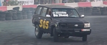 Toyota Land Cruiser Drifting Looks Fun [Video]