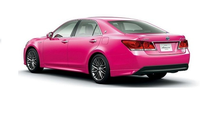 Toyota Launches Pink Limited Edition Crown in Japan