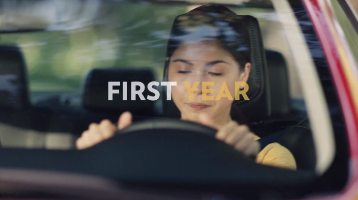 an analysis of the first year behind the wheel Sample paper: texting while driving ban  in order to spread the message about the dangers of tapping the keyboard while behind the wheel  every year, 21% of.