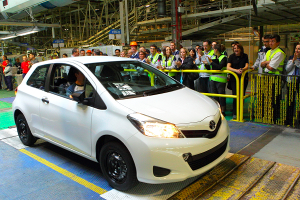 Toyota France To Start Exporting The Yaris To North