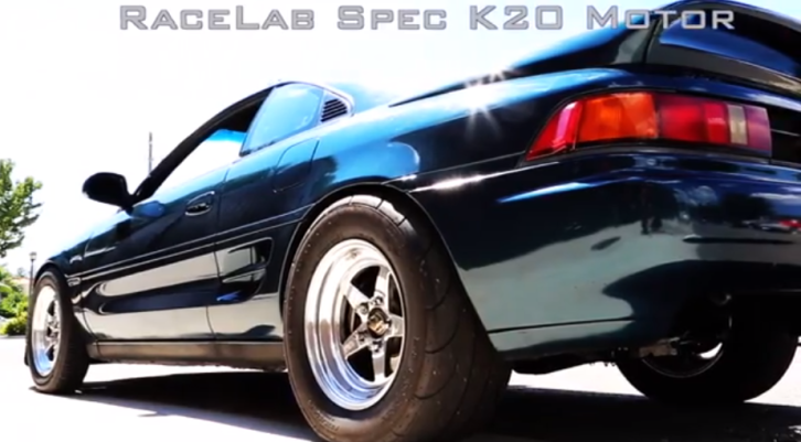Toyota MR2 Battles 1,000 HP Nissan GT-R [Video]
