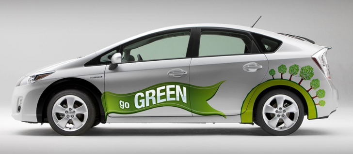 toyota as green car