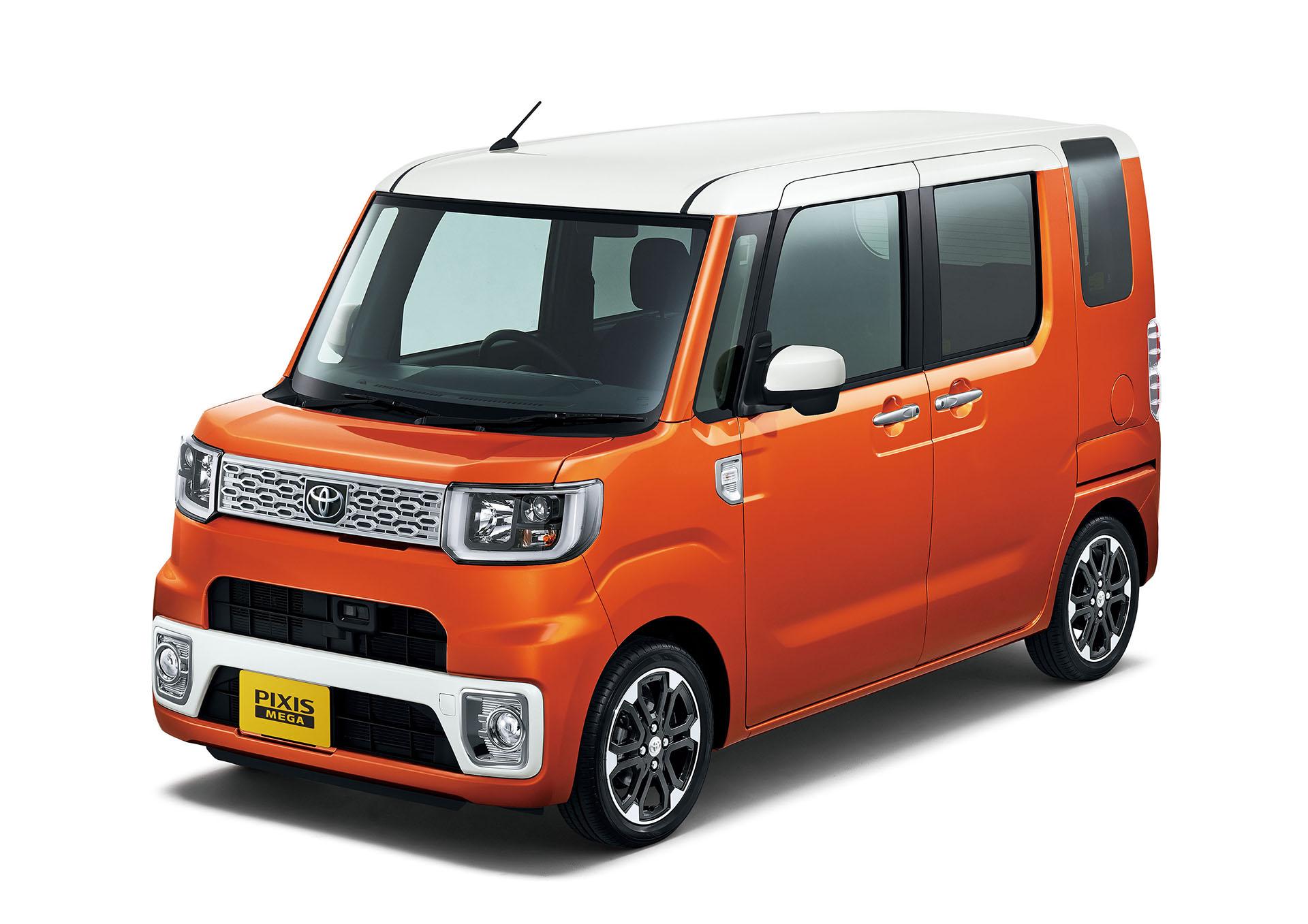 toyota pixis mega is japan 39 s newest ultra cute kei car autoevolution. Black Bedroom Furniture Sets. Home Design Ideas