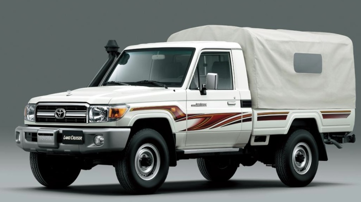 Toyota Pondering New 70 Series Land Cruiser