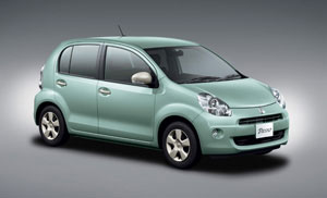 Toyota S Small Car Is Available In Two Model Styles