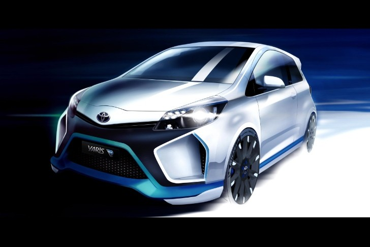 Toyota Previews Yaris Hybrid-R