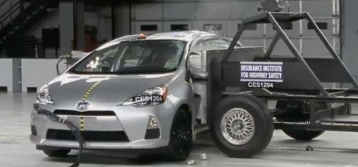 Toyota Prius C and Chevrolet Malibu Eco: IIHS Top Safety Pick [Video]