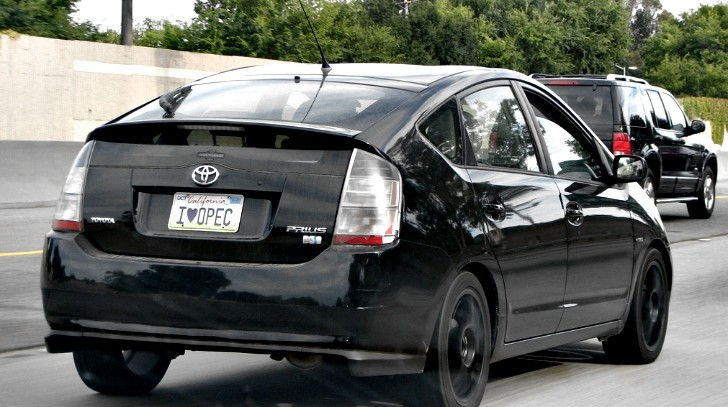 Toyota Prius Is California's Best Selling Car in 2012