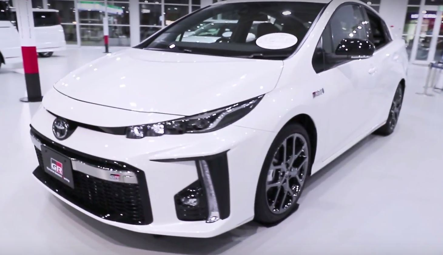 Toyota Prius Phv Prime Looks Awesome With Gr Sport Body Kit