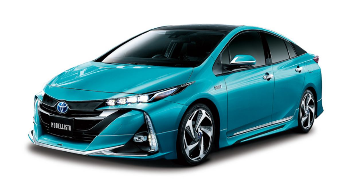 Toyota Prius Prime Plug In Gets Tuned By Trd And Modellista An