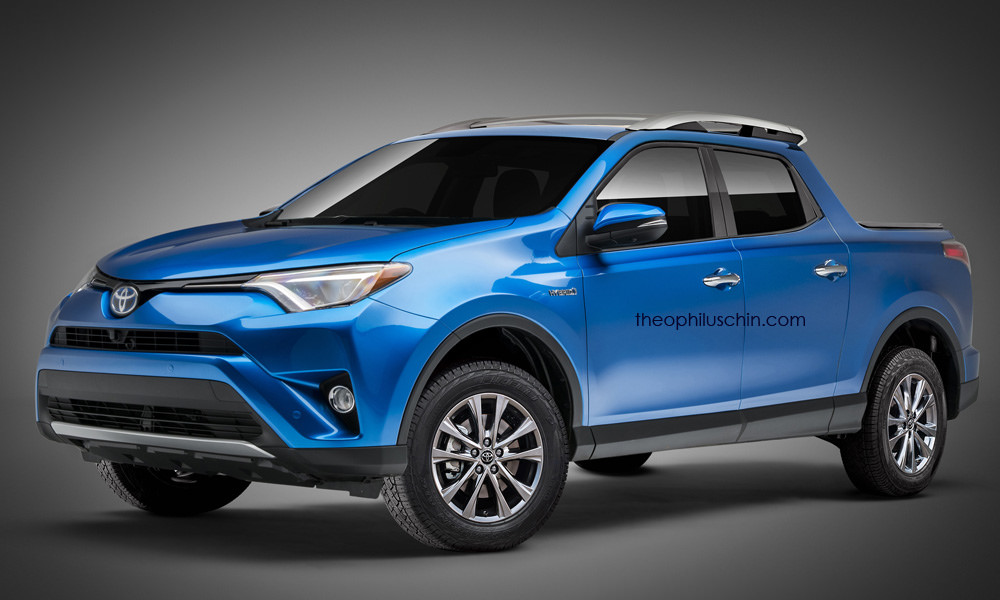 Toyota Rav4 Peugeot 3008 Pickups Rendered Based On Fiat