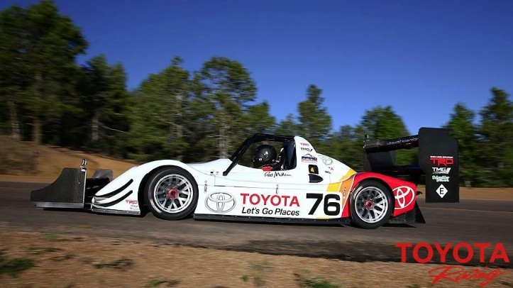 Toyota Ready to Defend Electric Pikes Peak Record