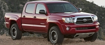 Toyota Recalling 342,000 Tacoma Trucks Over Faulty Seatbelts