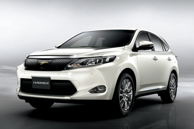 Toyota Reveals New Harrier Suv In Japan Video Autoevolution