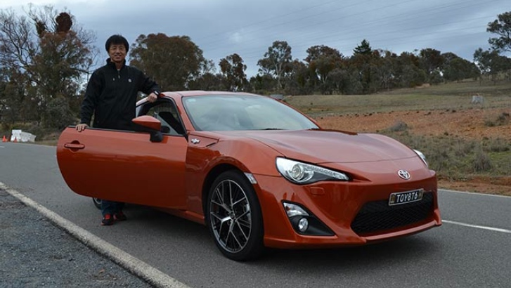 toyota reveals tuned gt 86 prototype. Black Bedroom Furniture Sets. Home Design Ideas