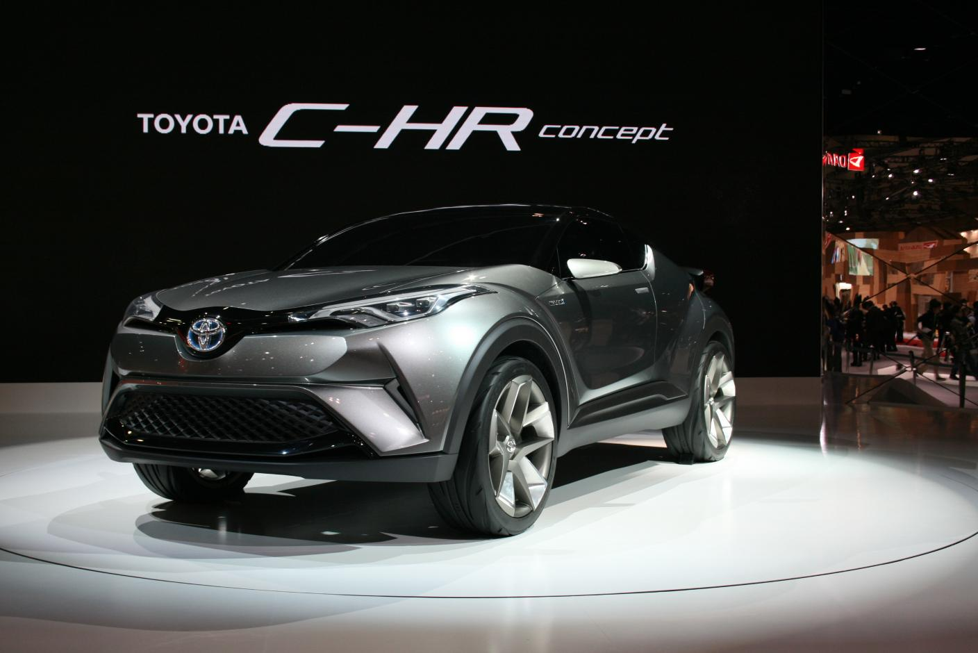 Popular Toyota Says CHR Will Debut At Geneva 2016 Shows Concept