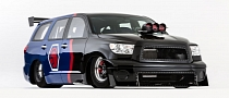Toyota Sequoia Family Dargster Unveiled, Coming to 2012 SEMA