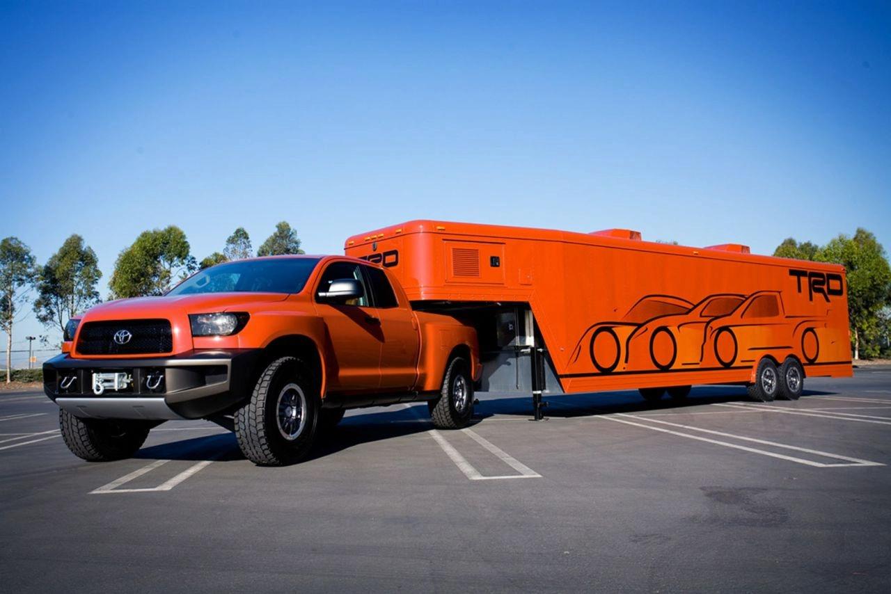 Toyota shows off trd tundra off road concept autoevolution