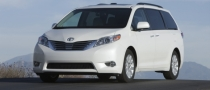 Toyota Sienna, Avalon Get IIHS Top Safety Pick Award