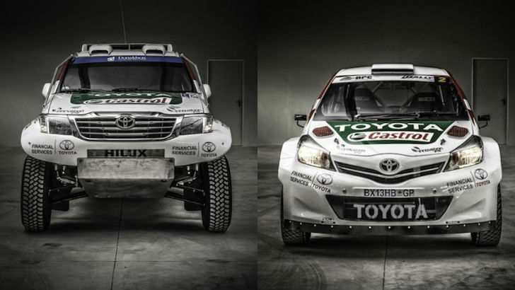 Toyota South Africa Reveals 2014 Rally Lineup - autoevolution
