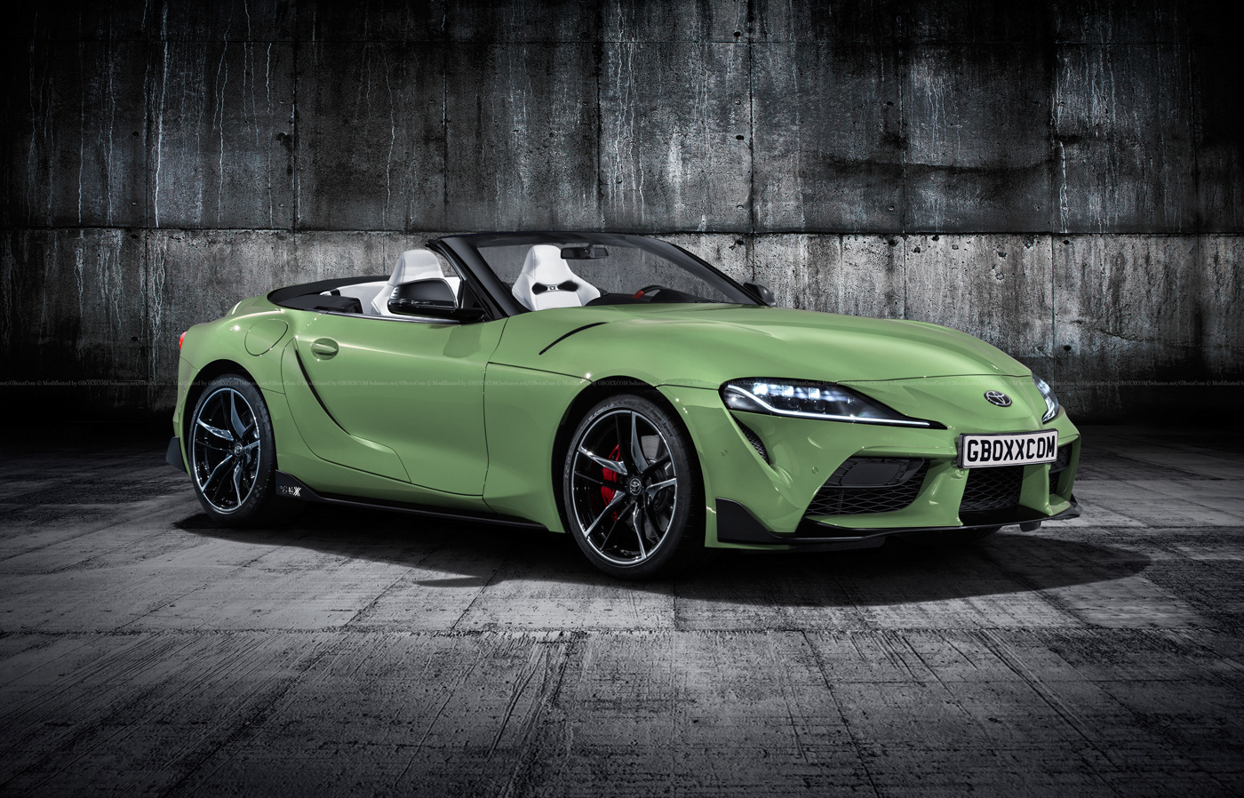 Toyota Supra Roadster Renderings Are Here Autoevolution