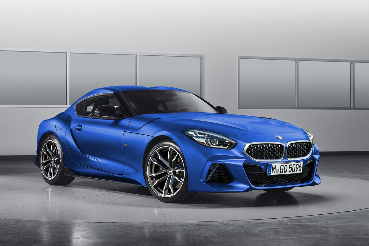 Toyota Supra With Bmw Z4 Face Is The Ultimate Unlikely German Coupe