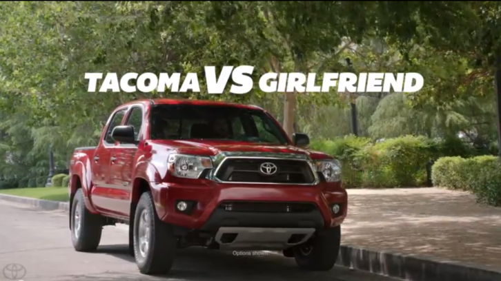 Toyota Tacoma Gets Funny Commercials Video