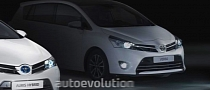 Toyota Teases Verso Facelift ahead of Paris Debut