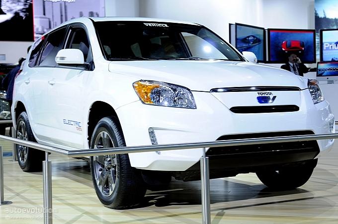 The Toyota Rav4 Ev Suv