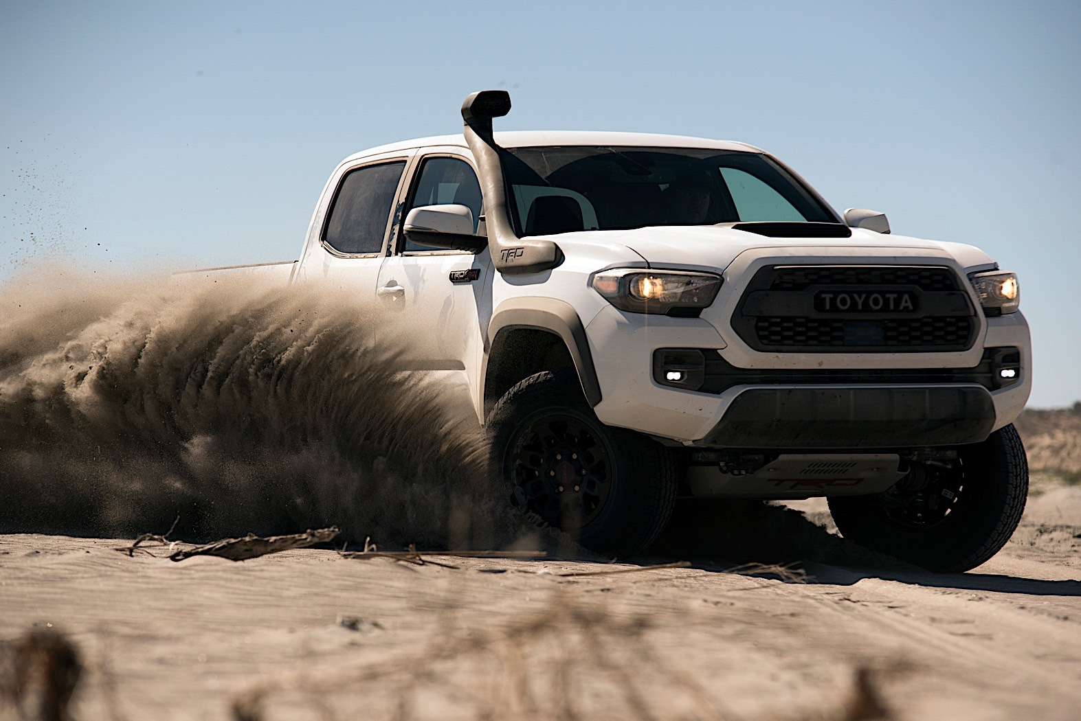 Toyota Tacoma TRD Pro Gets Snorkel So It Doesn't Choke on Sand