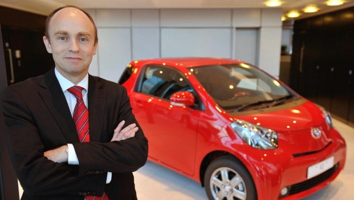 Toyota UK Gets New President