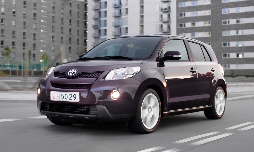 toyota urban cruiser excels in fuel efficiency reaches 57. Black Bedroom Furniture Sets. Home Design Ideas