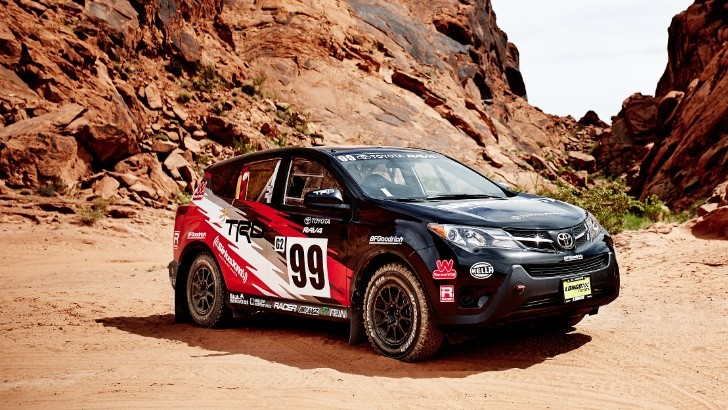 toyota will race a rally tuned rav4 at 2015 rally america. Black Bedroom Furniture Sets. Home Design Ideas