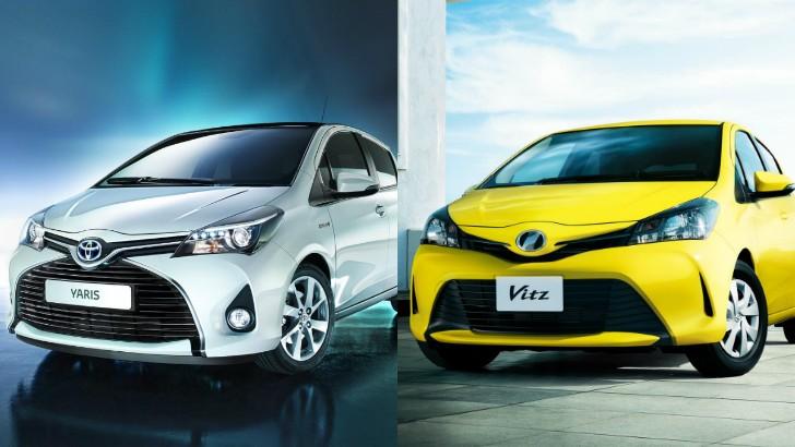 Toyota Yaris Vitz Gets Aygo Style Facelift