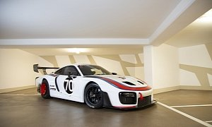 Track-Only 2020 Porsche 935 Martini With Zero Miles Goes to Auction